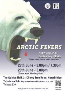 A4 Poster ARCTIC FEVERS